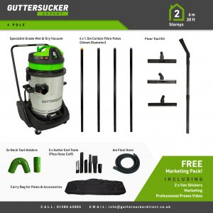 gutter cleaning vac