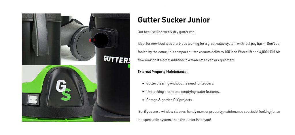 Guttersucker Junior Best Features